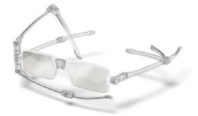 Nanni Compact Reading Glasses - Colour Crystal
